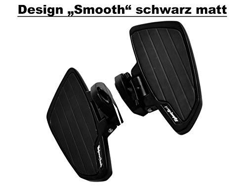 Highway Hawk – Escalones Sozius Smooth para Yamaha XVS 950