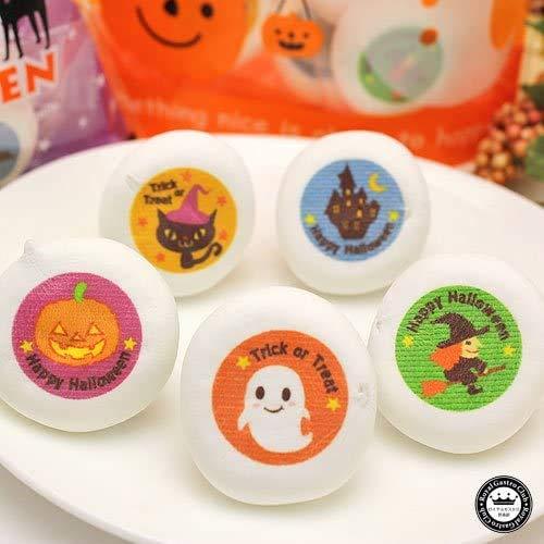 ハロウィン お菓子 マシュマロ チョコレート入り 個包装 袋詰め 5個入り