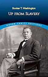 Portrait of Booker T. Washington from his autobiography Up from Slavery