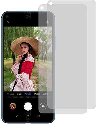 4ProTec I 2X Schutzfolie KLAR passexakt für Huawei Nova 5T Bildschirmschutzfolie Displayschutzfolie Schutzhülle Bildschirmschutz Bildschirmfolie Folie