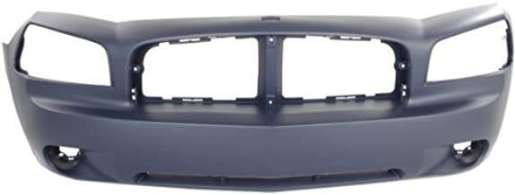 Front Bumper Cover Compatible with 2006-2010 Dodge Charger Primed (06-08)/(09-10)