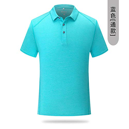 FDSHOSFH - Camisetas de manga larga para hombre y mujer, azul, XXXL