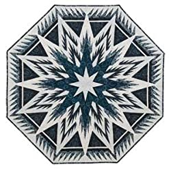 Feathered Snowflake Paper Pieced quilt pattern
