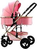 Baby carriage Hot Mom Pushchair - Kinderwagen 2 in 1 - Leichte kompakte