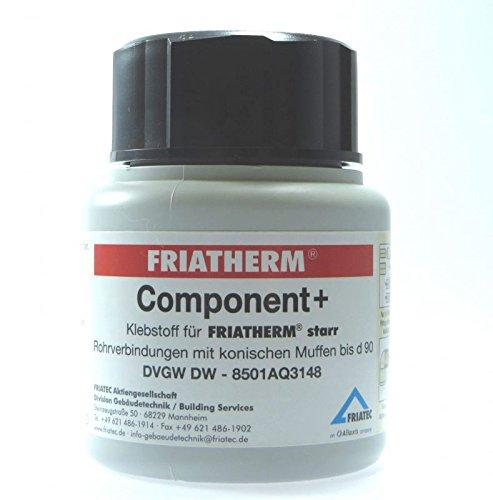 Friatherm Rohrsystem PN25 starr Component+Klebstoff (Variante: 100ml Dose)