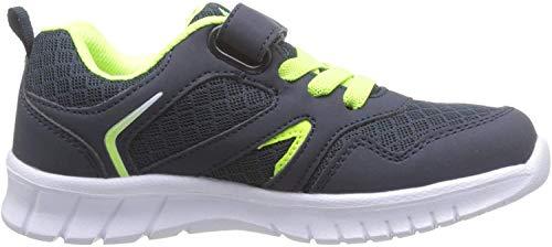 Lico Jungen Skip VS Sneaker, Blau (Marine/Lemon), 34 EU