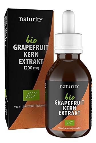 BIO Grapefruitkernextrakt, 1200 mg Bioflavonoide/250 ml, zertifizierte Bio-Qualität, vegan und in Deutschland hergestellt, leicht und sauber anzuwenden