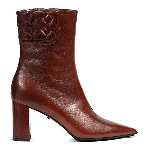 Dorothee Schumacher Stiefeletten Vintage Effect Padded Point Boot 38 Cognac