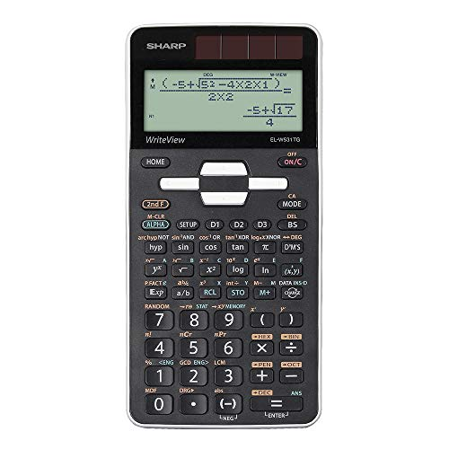 Sharp elw531tg de WH Calculadora Color Blanco/Negro