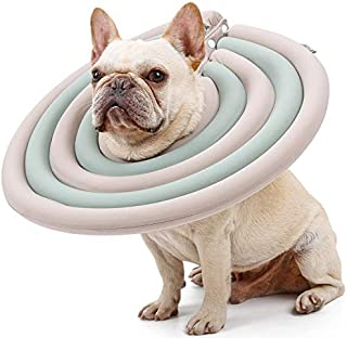 recovery collar -UFO Pet Collar, Soft Comfy Cone E-Collar After Surgery, Anti-Bite/Lick - for Cats Too, Quicker Healing - ...