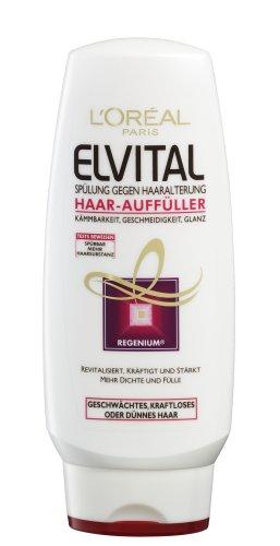 L'Oréal Paris Elvital Lot de 6 flacons de remplissage pour cheveux 200 ml