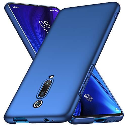 ORNARTO Hülle für Xiaomi Mi 9T, Mi 9T Pro Ultra Dünn Schlank Anti-Scratch FeinMatt Einfach Handyhülle Abdeckung Stoßstange Hardcase für Xiaomi Mi 9T/9T Pro(2019) 6.39 Zoll Blau