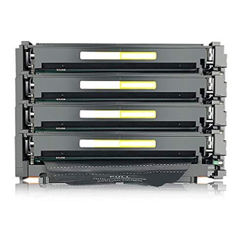 Cartuchos de tóner compatibles de repuesto para HP 410A CF410A CF411A CF412A CF413A para impresora HP Color Laserjet Pro M452nw M452dn M477fdw M477FNW M452DW con chips, color Combinación size