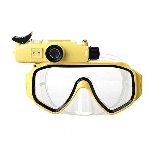 Duiken Camera Bril, DVR Bril, Biedt 120 ° Wide Field Of View,Met Camera Base, Goggles Anti-Fog Lens, Foto's en Video's kunnen worden genomen tijdens het snorkelen, duiken en zwemmen