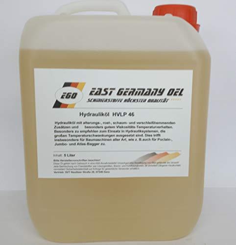 East Germany OIL Hydrauliköl HVLP 46 Kanister 5 Liter