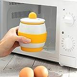 DAKE Cuece Huevos Microondas Cerámico Silicona
