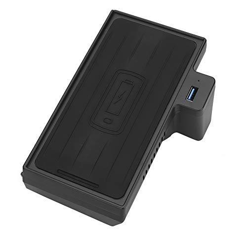 Cargador inalámbrico, Cargador inalámbrico Sensible para automóvil de 15 W, Carga rápida del teléfono para X5 X6 F15 F16 2014-2019