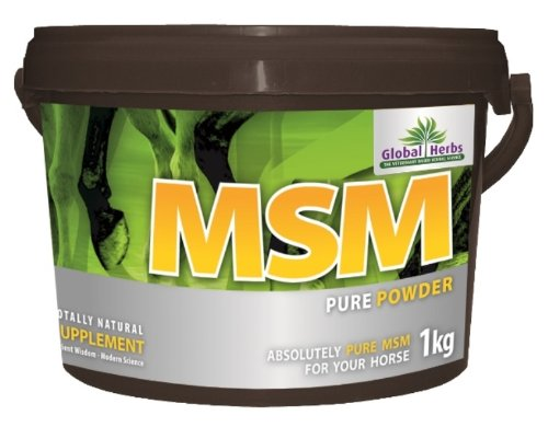 herbes globales - MSM Pure cheval supplément POUR ARTICULATIONS x 1 kg