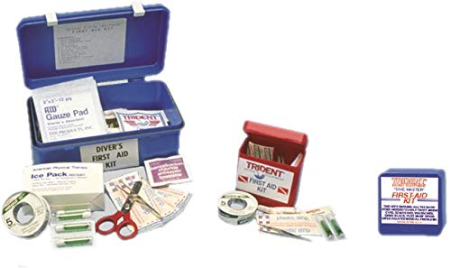 Trident Deluxe First Aid Kit with Drybox