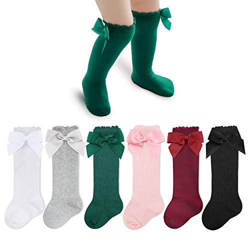DREAM PAIRS Little Kid KLOUCH Brown Knit Sweater Knee High Winter Boots - 11 M US Little Kid