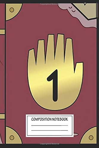 Notebook: Gravity Falls Journal 1 , Journal for Writing, Size 6' x 9', 164 Pages