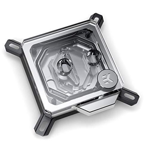 EK Water Blocks 3830046996862 Velocity Intel - Níquel Plus Plexi, color negro