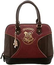Harry Potter Gold Hogwarts Crest Print Jrs. Dome Handbag Standard