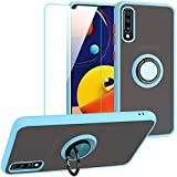 SHIYISHI for Samsung Galaxy A50 Case with Screen Protector, Slim Durable Hybrid St