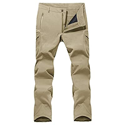 Ski Pants Men Waterproof Pants Windproof Pants Camping Pants Hiking Pants Ski Pants Snowboard Pants Khaki