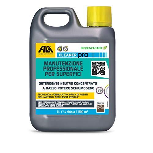 Cleaner Pro - Limpiador neutro altamente concentrado y ecológico, diluido 1:200 sin necesidad de enjuagar, mejores resultados profesionales, 40 lavados con 1 litro