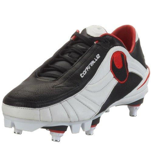 Uhlsport Torkralle SC 100820001, Unisex - Erwachsene Sportschuhe - Fusball, schwarz, (black/red 01), EU 41, (UK 7 1/2)