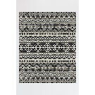 Linear Aztec Black – RUGGABLE