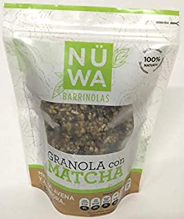 NÜWA Granola con Matcha (4 paquetes 340 gr)