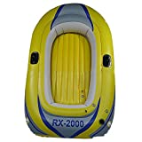 Kayak Inflatable Boat Thickened Wear-Resistant Fishing Boat Fast Travel Canoe, 2 People