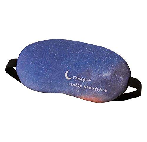 Modèles de voyage Eye Mask Personality Eyeshade Respirant Aid-sleeping-B