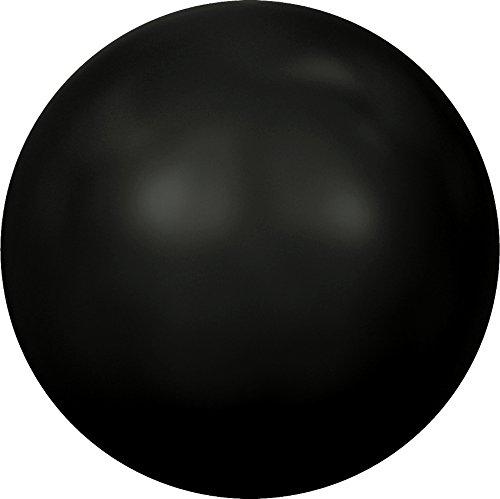 Cristaux de Swarovski 850025 Perles Nacrées 5818 MM 6,0 Crystal Mystic Black Pearl, 500 Pièces