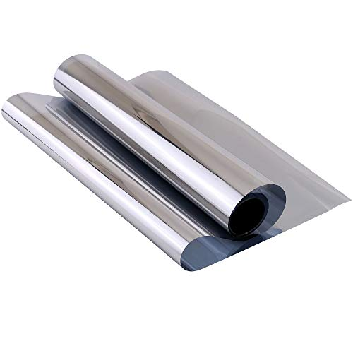 Mangsen Window Tint for Home 200*45cm One Way Daytime Privacy Window Flim...