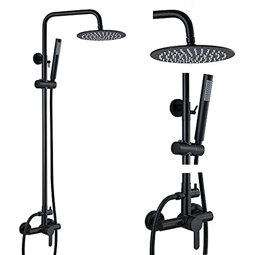 Matte Black Outdoor Shower Fixture...