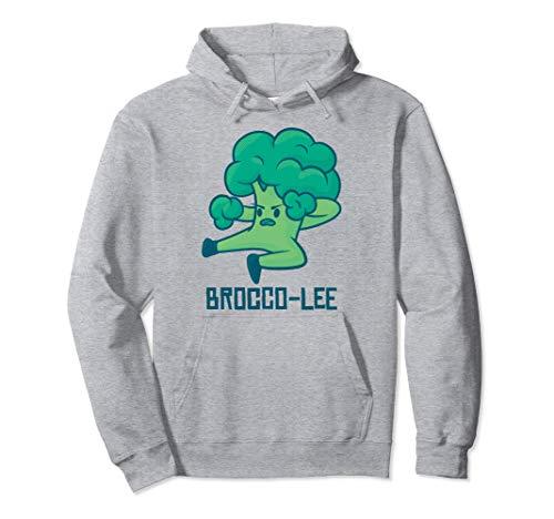 Fasching & Karneval - Lustiges Brokkoli Kostüm Pullover Hoodie
