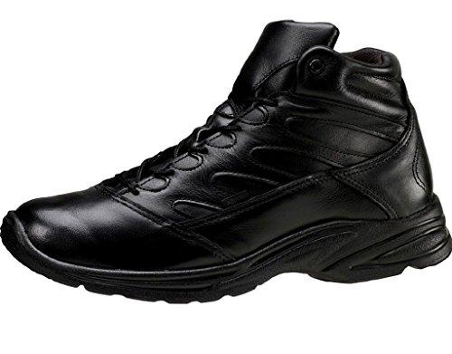 Thorogood Women's SR Leather Mid Cut Boots Black 8.5 W