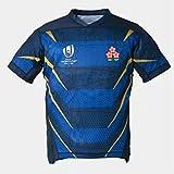 CBsports Team Japan, Maillot De Rugby, Coupe du Monde, Édition Extérieur, Nouveau Tissé Brodé, Swag Sportswear (Bleu, L)