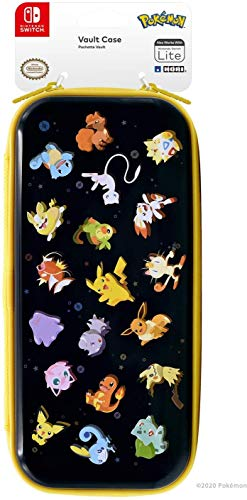 HORI Custodia Premium Vault Case (Pokémon Stars Edition) Per Nintendo Switch/Lite - Ufficiale Nintendo e Pokémon - Nintendo Switch