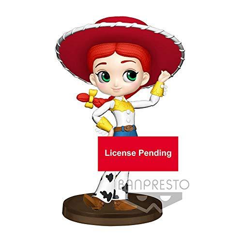 Q Posket Q Posket-82681 Petit, Figura Disney, Pixar, Jessie (Toy Story), Multicolor, 7 cm (Bandai 82681)