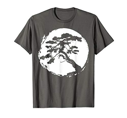 Bonsai Tree Japanese Zen Master T-Shirt Gift