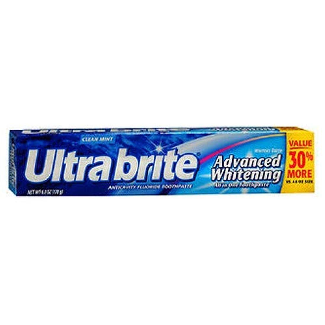 書き出すカリングモデレータ海外直送品Colgate Colgate Ultra Brite Advanced Whitening Fluoride Toothpaste, 6 oz (Pack of 3)
