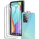 A-VIDET Kompatibel mit Samsung Galaxy A52 5G/4G Panzerglas(3 Stück)+ Kamera Panzerglas(2 Stück),HD Klar Kameraschutz Folie Gehärtetem Glas Bildschirmschutzfolie