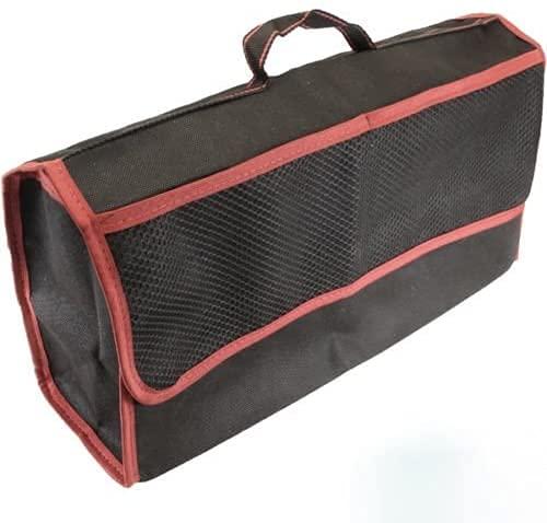 Grand noir/rouge feutre résistant Blanc rabattus Sac à outils coffre crampons
