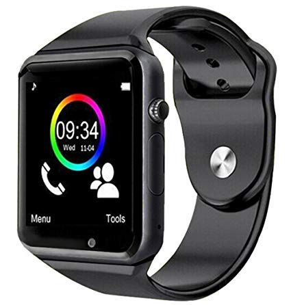 Relogio SmartWatch A1 Bluetooth Wifi Camera Celular Chip Cartao Musica Whatsapp