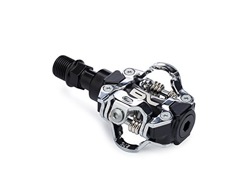 BC Bicycle Company Rock Garden 1.0 Clipless MTB Bike Pedals Includes SPD Compatible Cleats