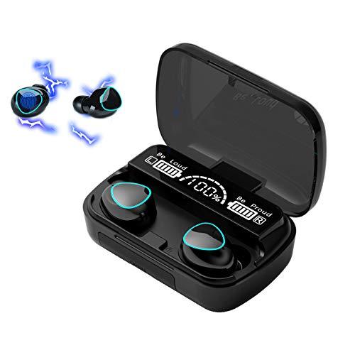 Fones de Ouvido XFTOPSE Bluetooth Sem Fio Intra-Auricular IPX7 à Prova D'água com Controle de Toque Estéreo 3D e Cancelamento Ativo de Ruídos CVC8.0 (Edição de Luxo)
